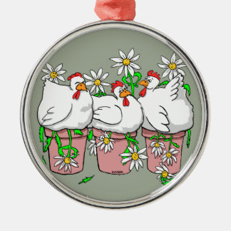 A Chicken In Every Pot Metal Ornament