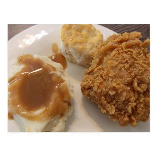 A Chicken meal postcard
