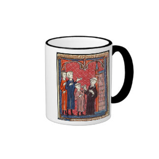 A Child Brought to a Monastery by his Parents Mugs