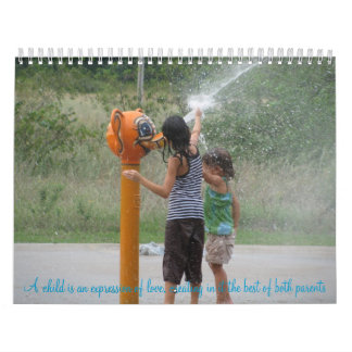 A child is an expression of love calendar
