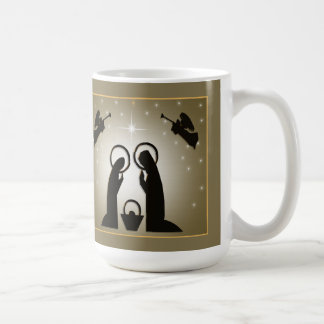 A Child Is Born Christmas Mug
