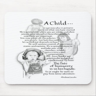 A Child... Mouse Pads