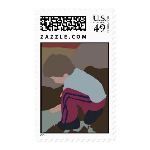 A child postage