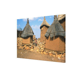A child running through the upper Idjeli Stretched Canvas Prints
