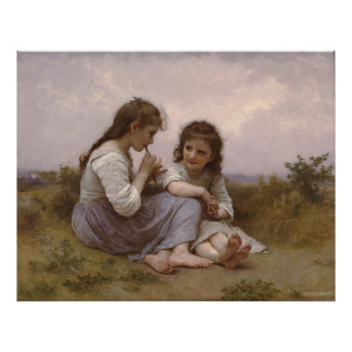 A Childhood Idyll (Idylle Enfantine) (1900) Poster