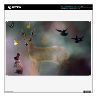 A childs forest fantasy skins for the MacBook