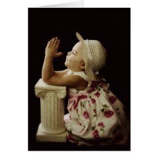 A Child's Prayer Greeting Card
