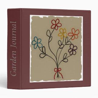 A Child's Rainbow Bouquet Binder Notebook