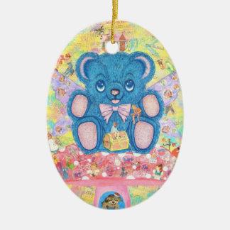 A Child's Treasure Ceramic Ornament