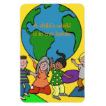 A Child's World Flexible Magnet