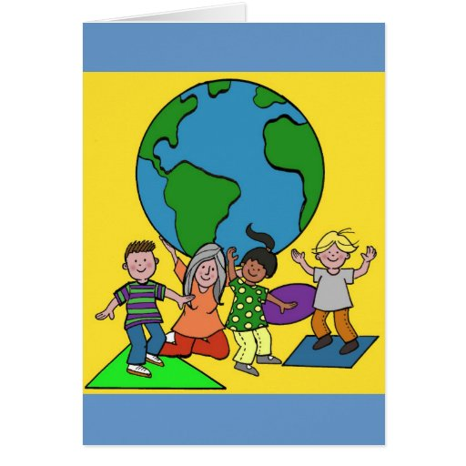 A Child's World is in Our Hands Card