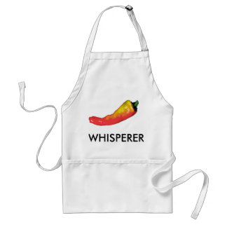 A chili whisperer- someone is the best Chili Cook Adult Apron