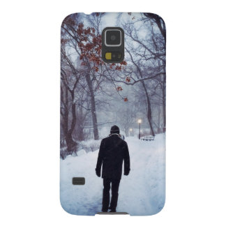 A Chilly Path In Central Park Galaxy S5 Cover