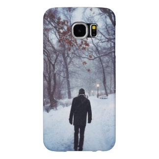 A Chilly Path In Central Park Samsung Galaxy S6 Case