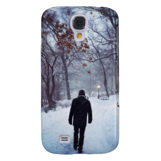 A Chilly Path In Central Park Samsung S4 Case