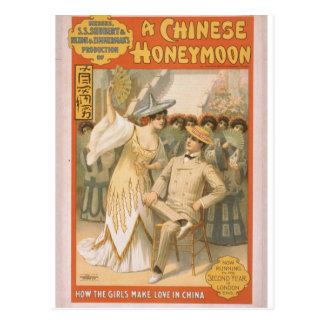 A Chinese Honeymoon Postcard
