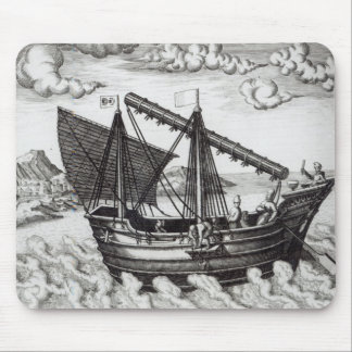 A Chinese Junk Mouse Pad