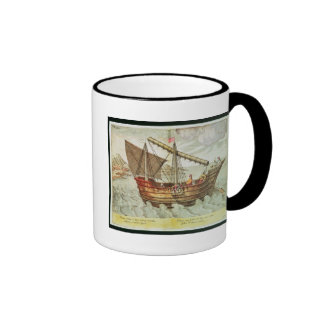 A Chinese Junk Ringer Coffee Mug
