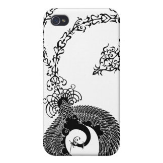 a Chinese phoenix has a lotus 鳳凰蓮 iPhone 4 Covers