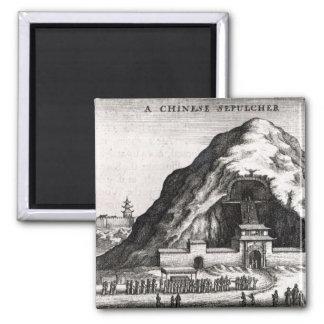 A Chinese Sepulcher, 1669 Magnet