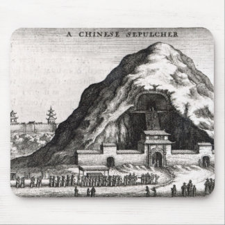 A Chinese Sepulcher, 1669 Mouse Pad