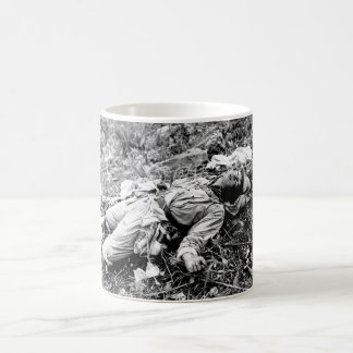 A Chinese soldier_War Image Coffee Mug