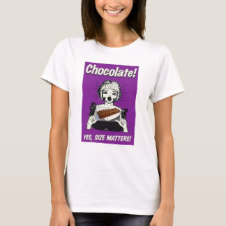 A chocolate comment T-Shirt