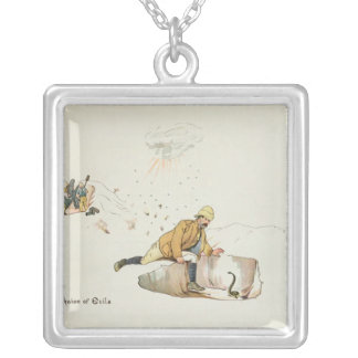 A Choice of Evils from The Leaguer of Silver Plated Necklace