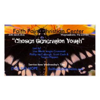 A Chosen Generation Business Card Template
