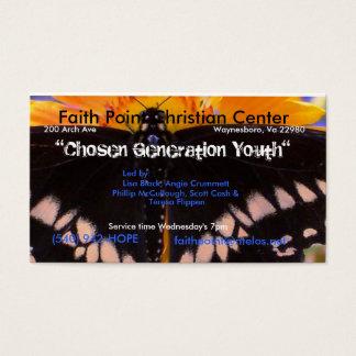 A Chosen Generation Business Card