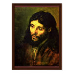 "A Christ After Life """" "" By Rembrandt Harmenszoon Post Card"