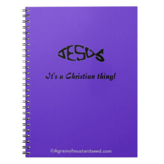 A Christian Thing Notebook