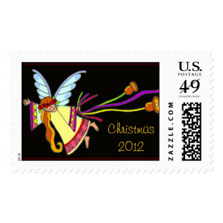A Christmas Angel Ukrainian Folk Art Postage