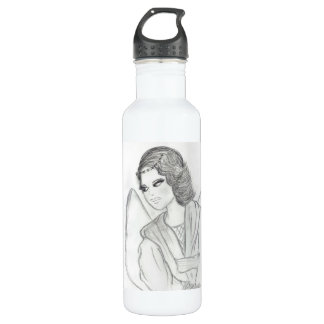 A Christmas Angel Water Bottle