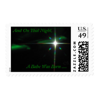 A Christmas Babe.... Postage Stamps