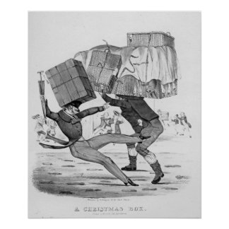 A Christmas Box, 1836 Posters