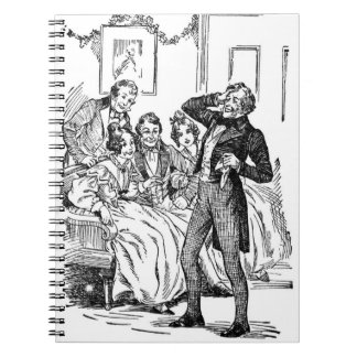 A Christmas Carol: A Fresh Roar Of Laughter Spiral Note Book