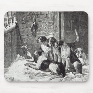 A Christmas Carol, from 'Leisure Hour', 1888 Mouse Pad