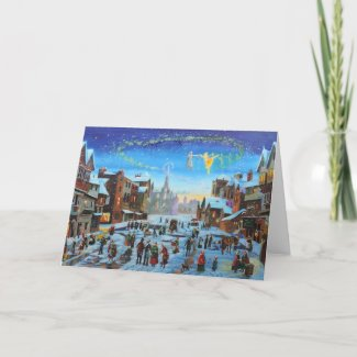 A Christmas Carol Gordon Bruce art Card