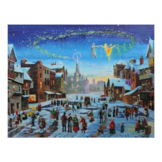 A Christmas Carol Gordon Bruce art Poster