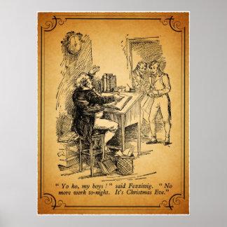 A Christmas Carol: It's Christmas Eve Print