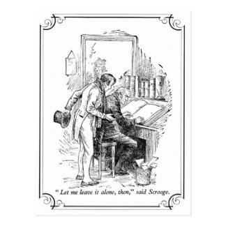 A Christmas Carol: Leave It Alone Post Cards