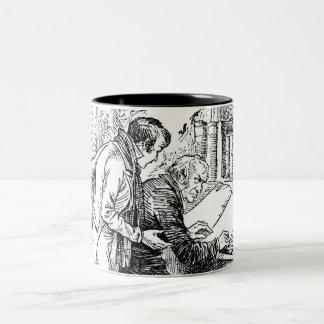 A Christmas Carol: Leave It Alone Two-Tone Coffee Mug