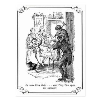 A Christmas Carol: Little Bob & Tiny Tim Postcards