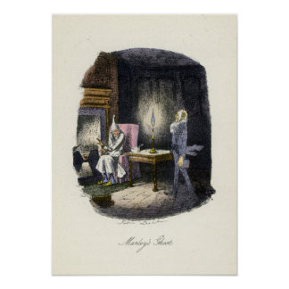 A Christmas Carol - Marley's Ghost Poster
