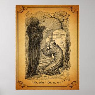 A Christmas Carol: No, Spirit! Print