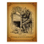 A Christmas Carol: Old Scrooge Poster