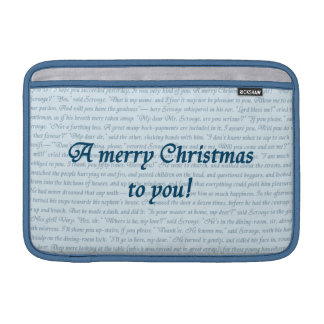A Christmas Carol Quote double-sided MacBook Air Sleeves