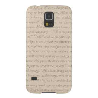 A Christmas Carol Quote Galaxy S5 Cover