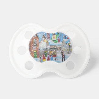 a Christmas Carol Scrooge and the three ghosts Pacifier